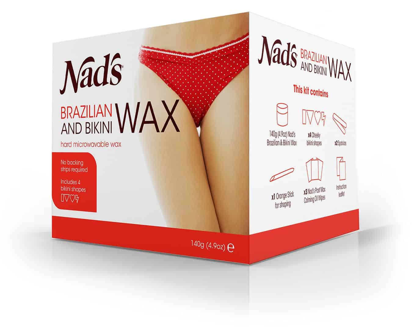 Brazilian bikini wax at home by nads