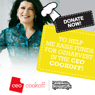 CEO Cookoff with OZ Harvest