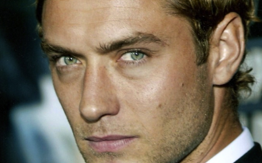Jude Law's Well Groomed Eyebrows