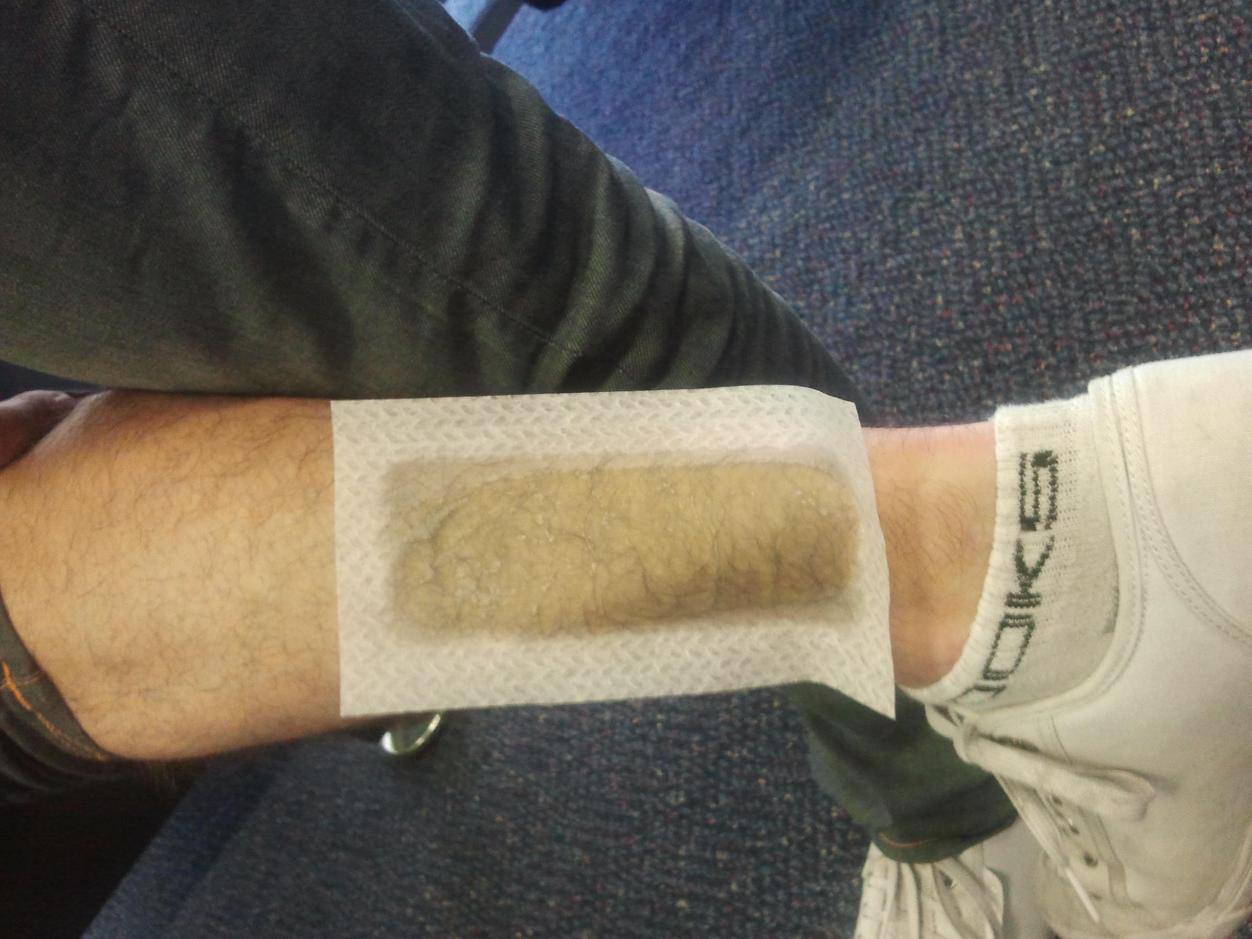 Men leg waxing / Local phone voucher code