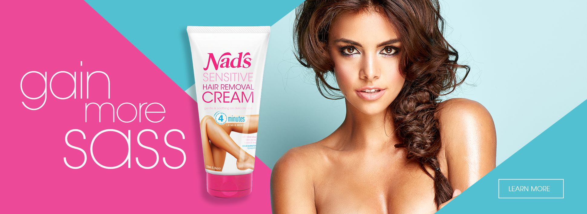 Nad's New Sensitive Hair Removal Cream - Gain More Sass