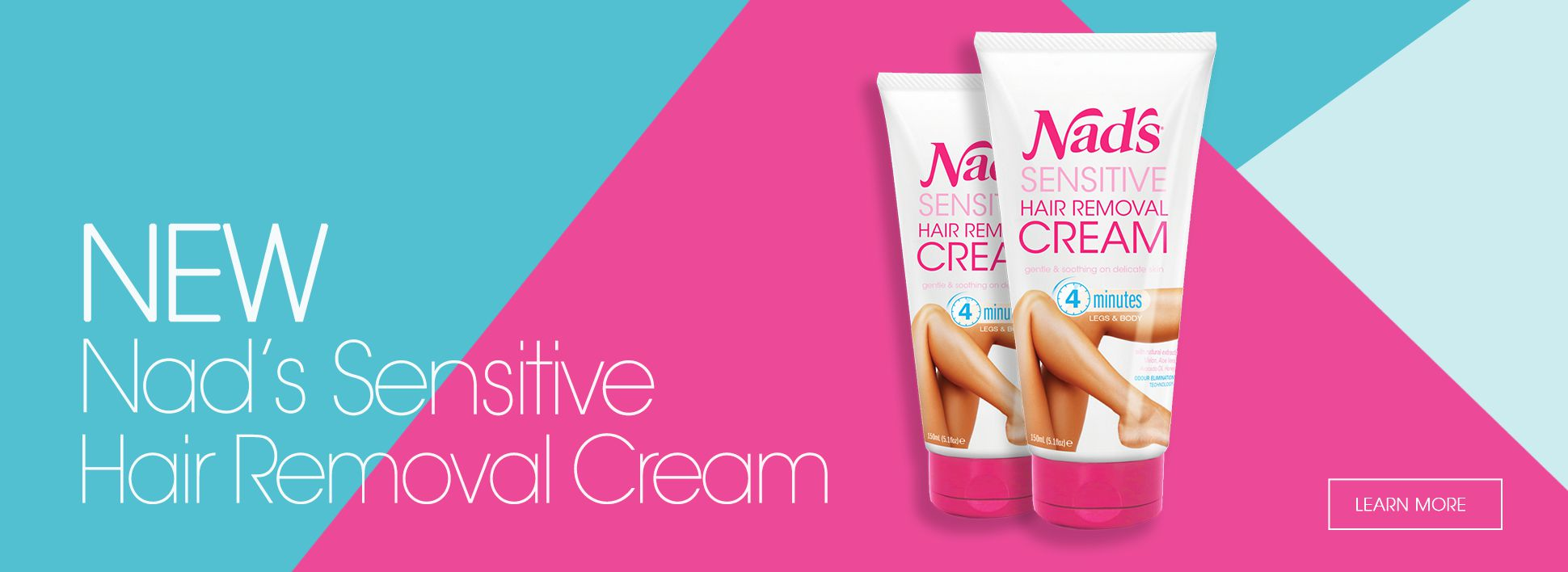 Nad's New Sensitive Hair Removal Cream - More Info