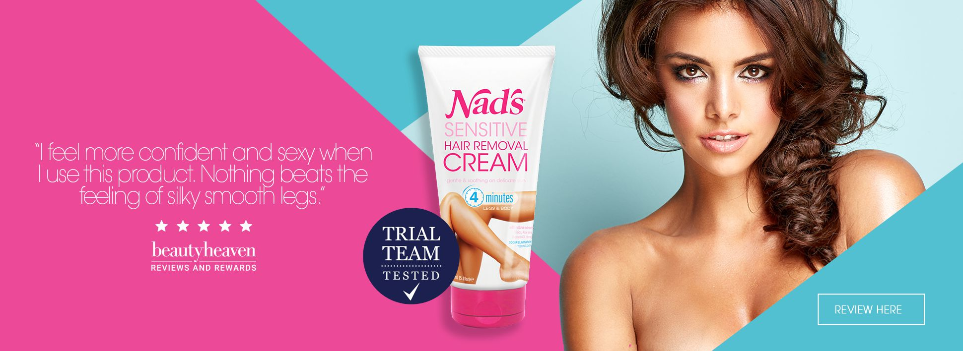 Nad's New Sensitive Hair Removal Cream Reviews