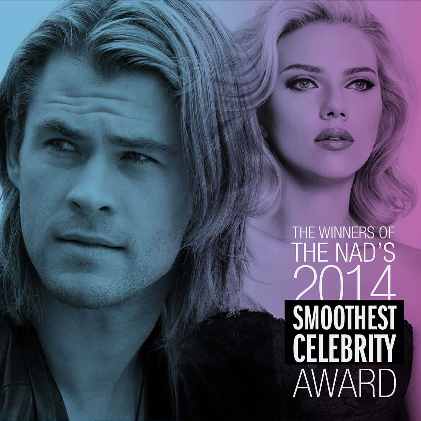 Nad's 2014 Smoothest Celebrity Award – Winners! | Nad's Hair Removal Blog