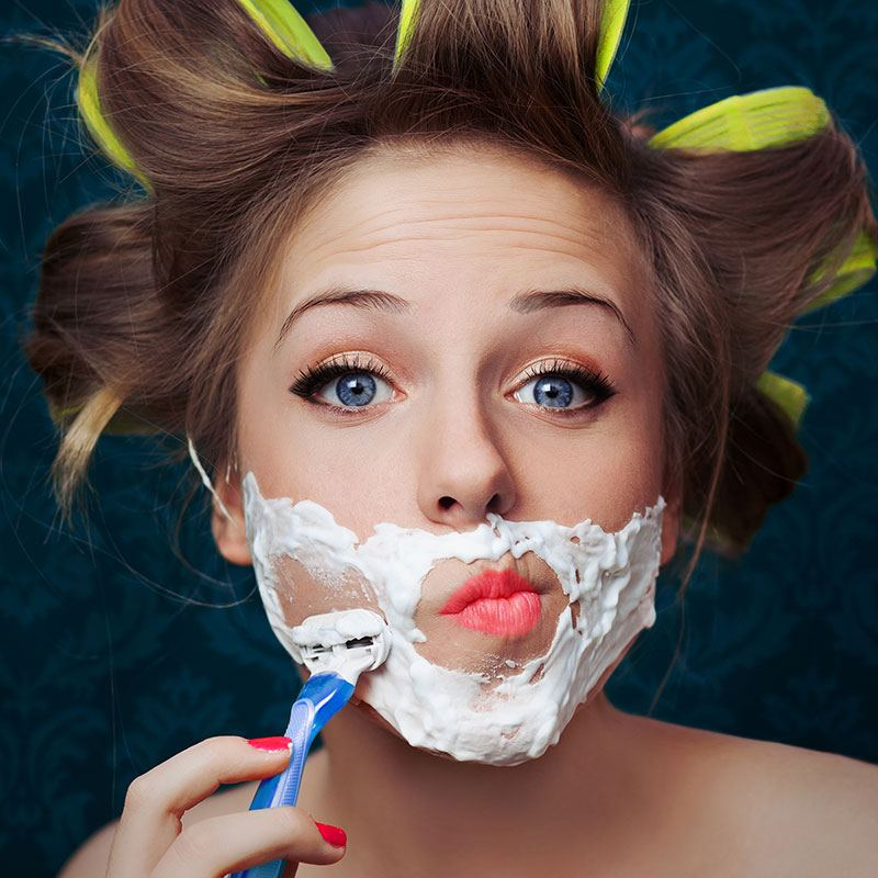 Are you having problems with facial hair? | Nad's Hair Removal Blog