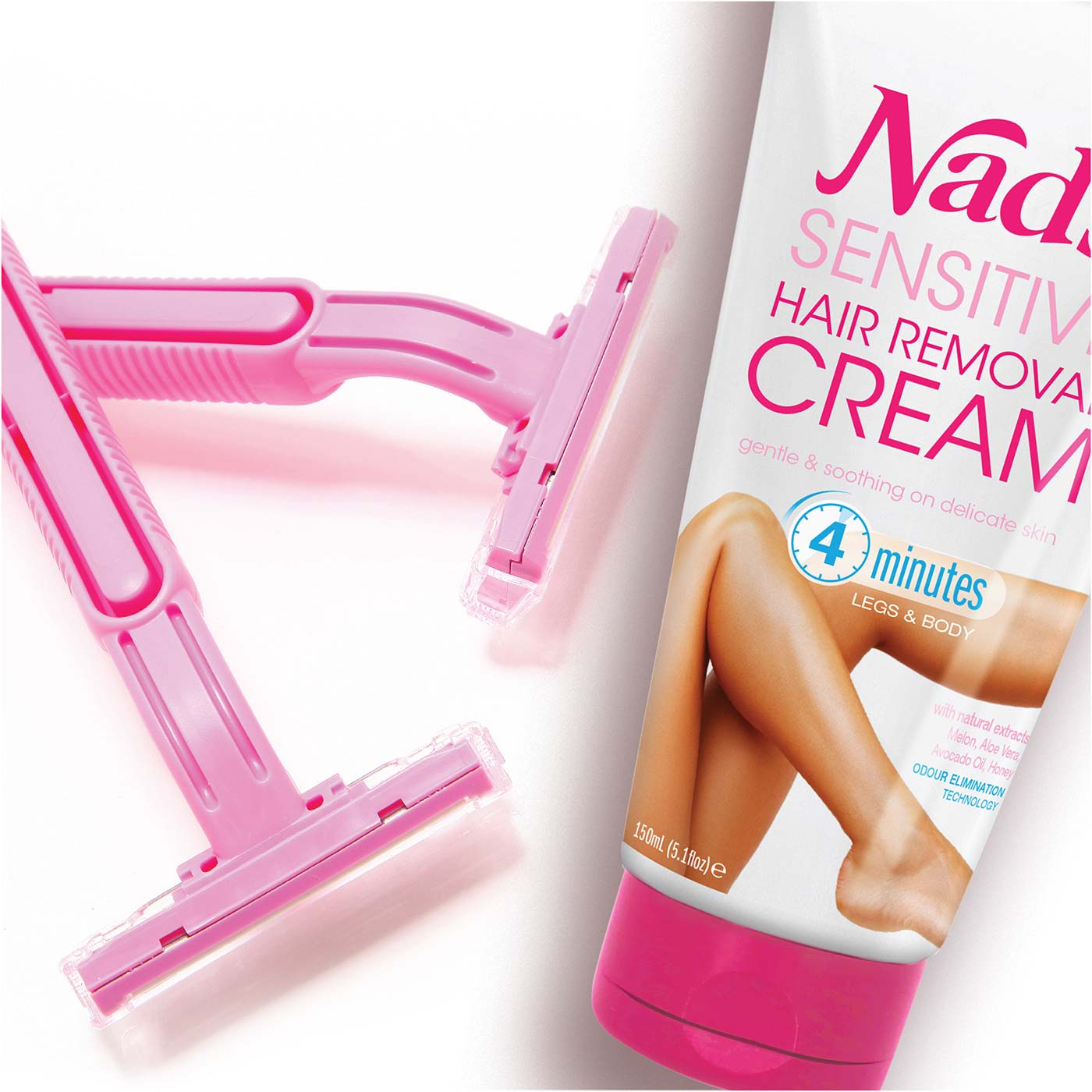 Hair Removal Wars: Depilatory Cream vs Shaving | Nad's Sensitive Hair Removal Cream