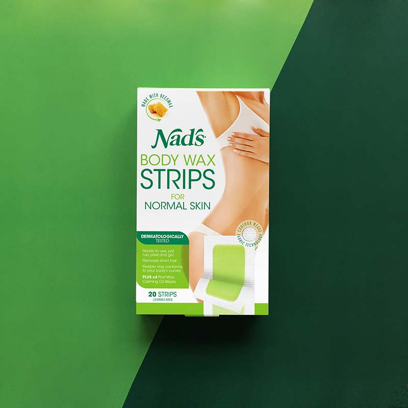Beauty Wars: Wax Strips or Pot Wax | Nad's Natural Hair Removal Body Wax Strips