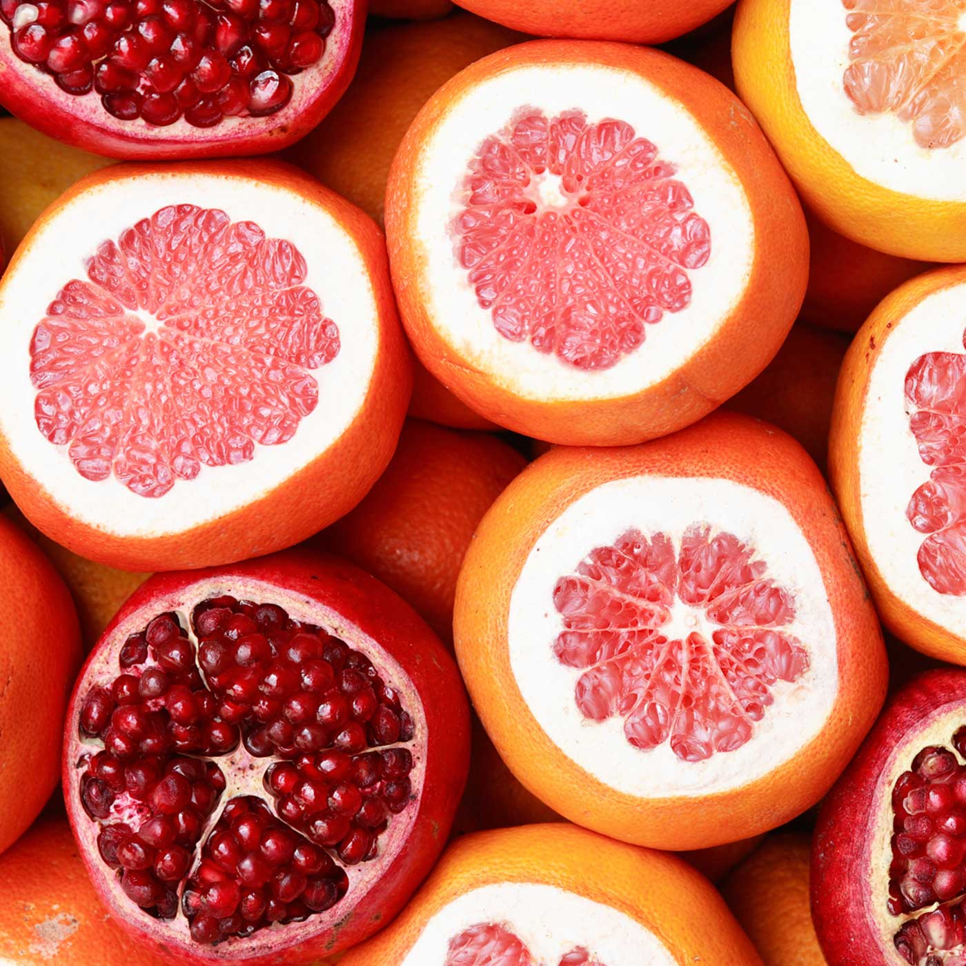 Benefits on the Body Inside and Out from Pink Grapefruit and Pomegranate | Nad's Hair Removal Blog
