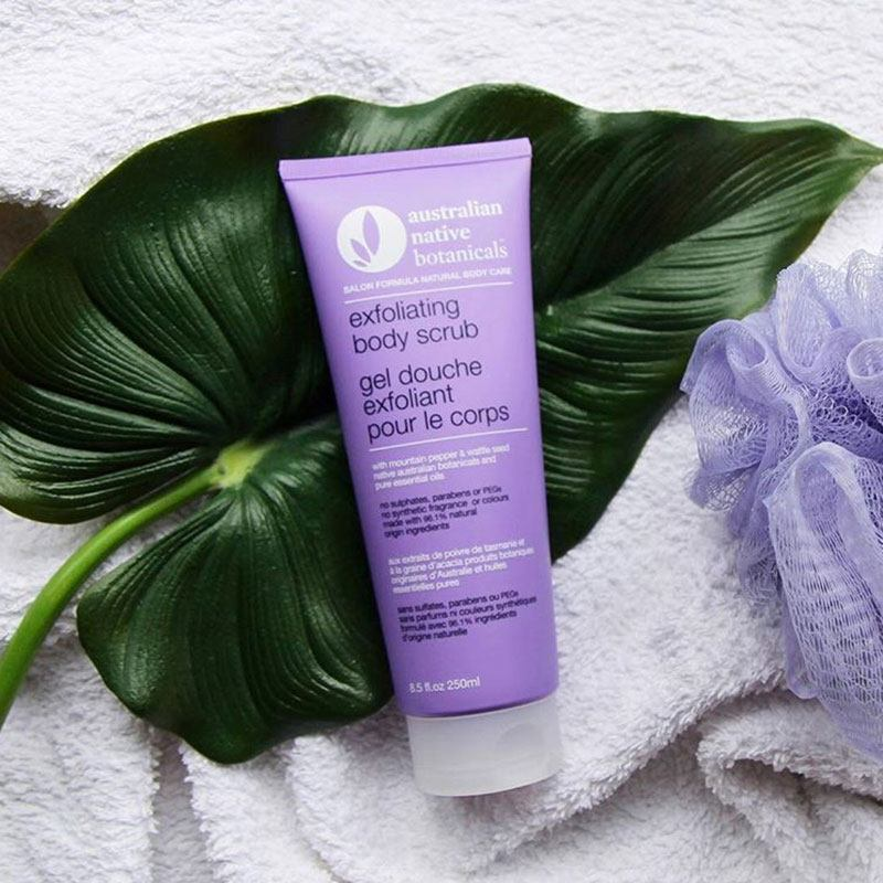 Australian Native Botanicals Sulfate Free Exfoliating Body Scrub | Top 5 At Home Beauty Treatments