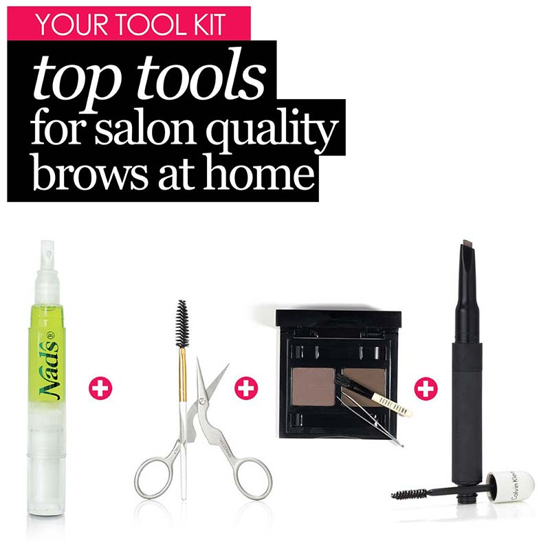 Top Tools for Salon Quality Eyebrows