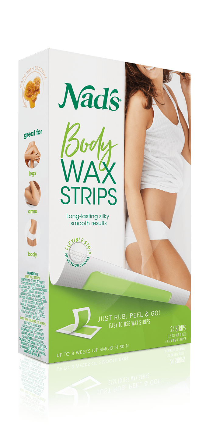 Nad S Hair Removal Body Wax Strips For Normal Skin