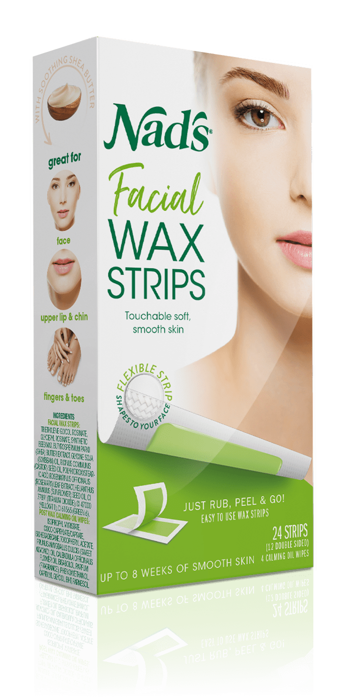 Nad S Hair Removal Facial Wax Strips
