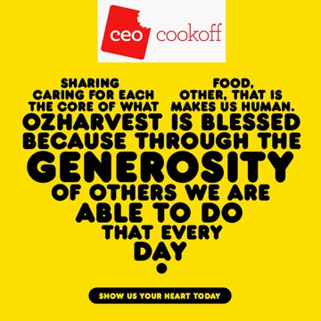 CEO Cookoff with OzHarvest! | Nad's Hair Removal Blog