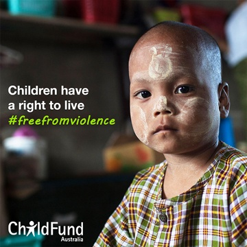ChildFund's Free from Violence and Exploitation  | Sue Ismiel Nad's Global Brand Ambassador