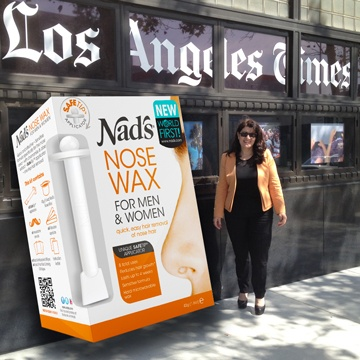 Nad's nose wax takes on Los Angeles! | Nad's Hair Removal Blog