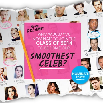 Nad's 2014 Celebrity Smooth Finalists Announced | Nad's Hair Removal Blog
