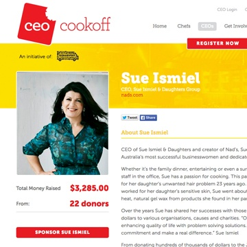 OzHarvest Sydney CEO Cookoff 2014 | Nad's Hair Removal Blog