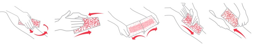 Nad's Hair Removal Exfoliating Body Wax Strips | How to Step by Step