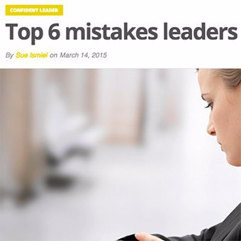 Top 6 mistakes leaders make with meetings