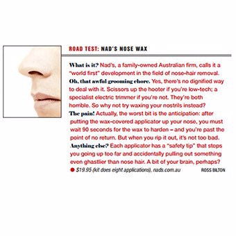 Road Test: Nads Nose Wax