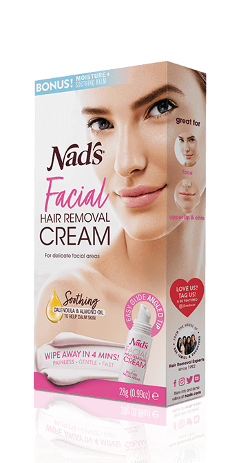 nad's facial hair removal creme - depilatory cream