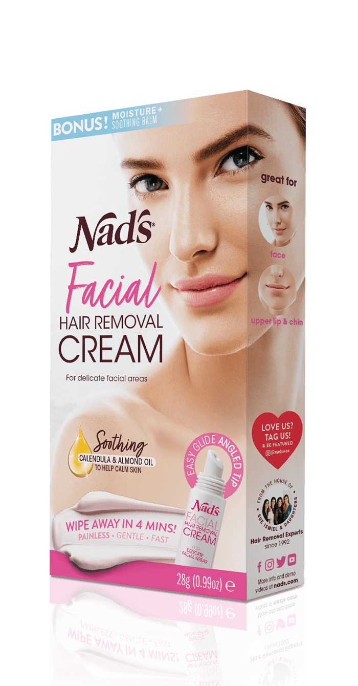 Nad S Facial Hair Removal Cream Depilatory Cream