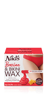 Nad's Hair Removal Brazilian & Bikini Wax Kit