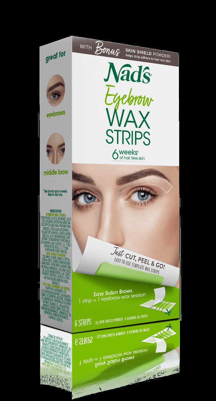 Nad S Hair Removal Eyebrow Wax Strips