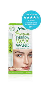 Nad's Hair Removal Precision Eyebrow Wax Wand