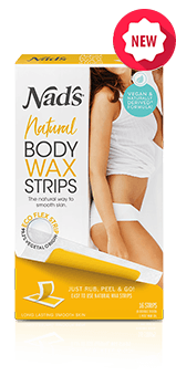 Nad's Natural Hair Removal Body Wax Strips 16ct