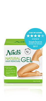 Nad's Natural Hair Removal Gel