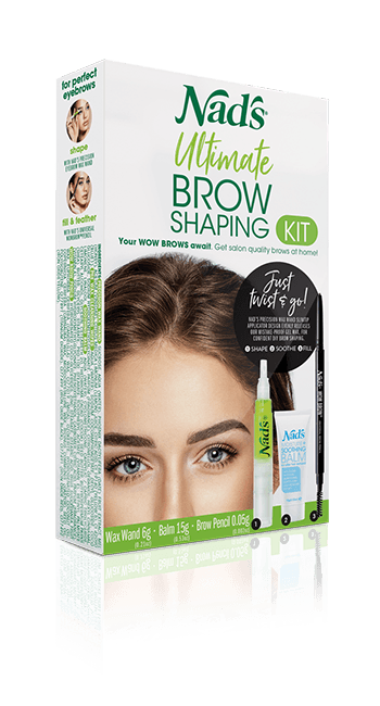 Nad's Natural Hair Removal Ultimate Brow Shaping Kit