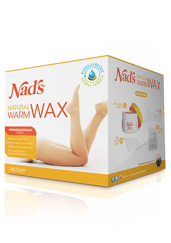 Nad's Natural Hair Removal Warm Body Wax
