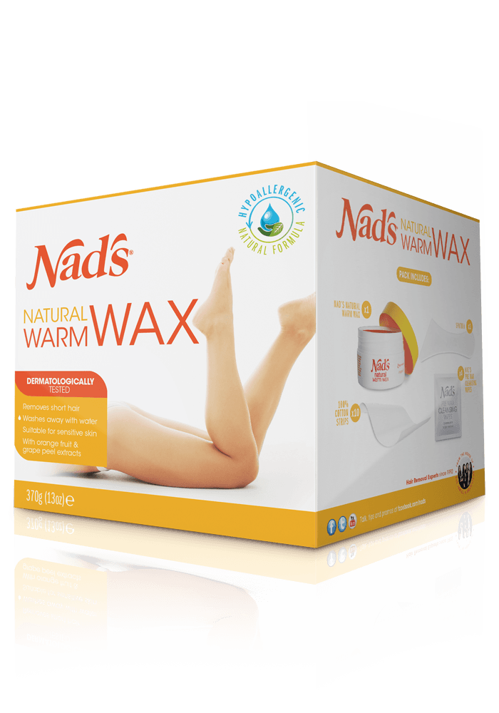 Nad S Natural Hair Removal Warm Body Wax