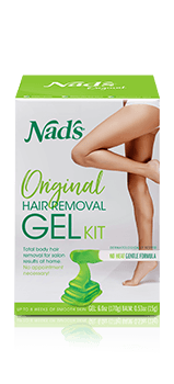 Nad's Original Hair Removal Gel Kit